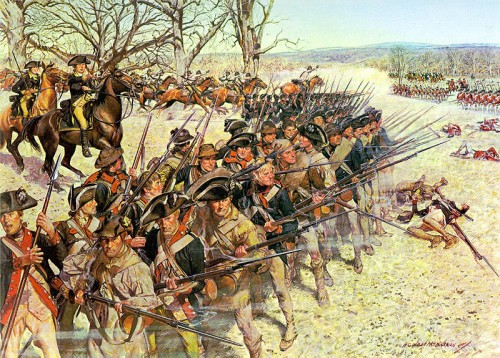 Battle of Guilford Courthouse - Charles McBarron