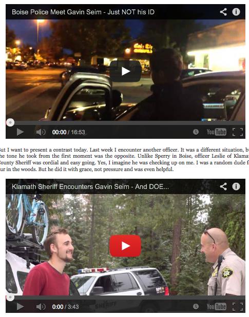 Good Cop vs Bad Cop – Two Videos