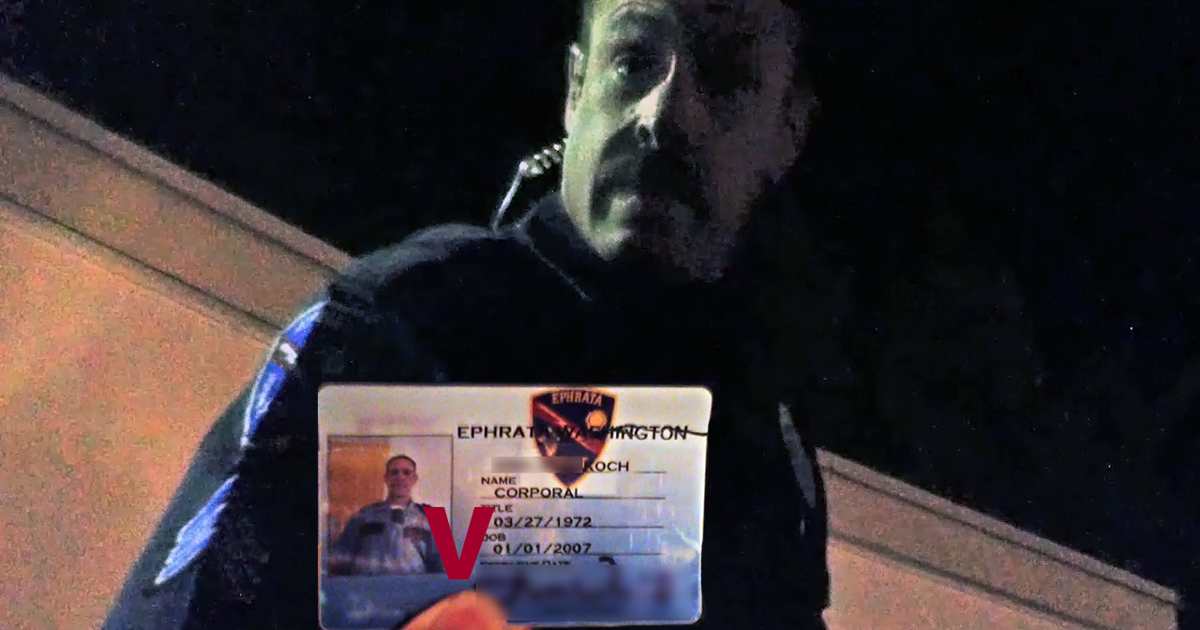 Seim Stops Another Cop for Breaking the Law!
