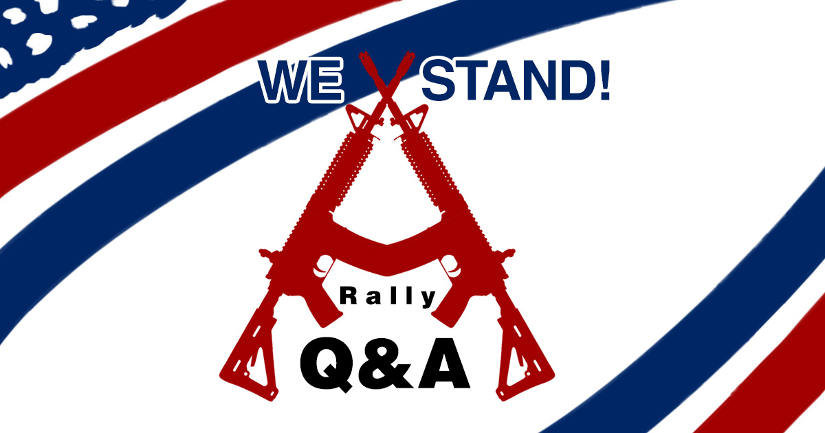 I Will Not Comply Rally Q&A.