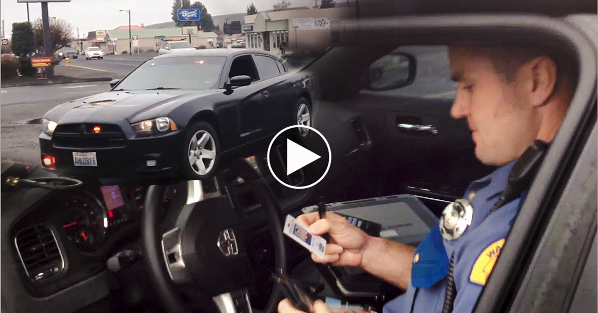 Citizen Takes on Trooper for Breaking the Law!