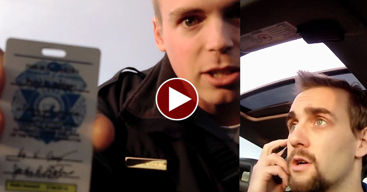 Man Calls 911 on Cop then Schools Him on Being a COP!