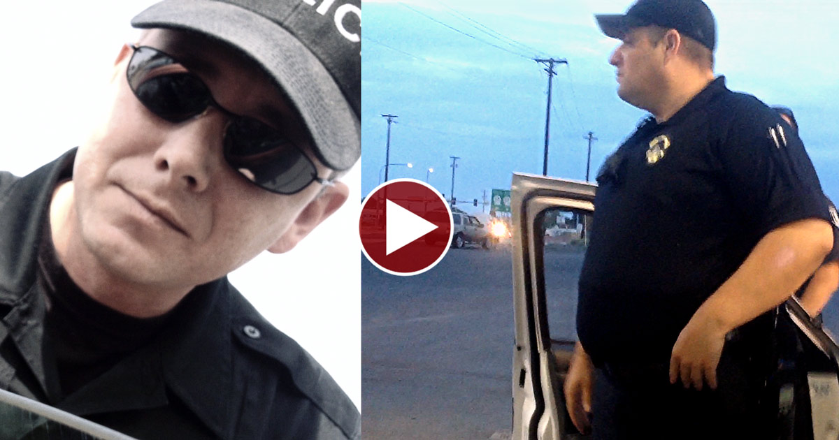 Citizen Tells Cops; DO YOUR JOB and they OBEY!