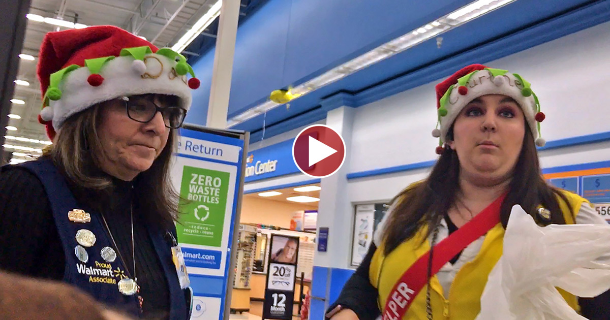 Walmart Girls PUNISH me for Non-compliance!